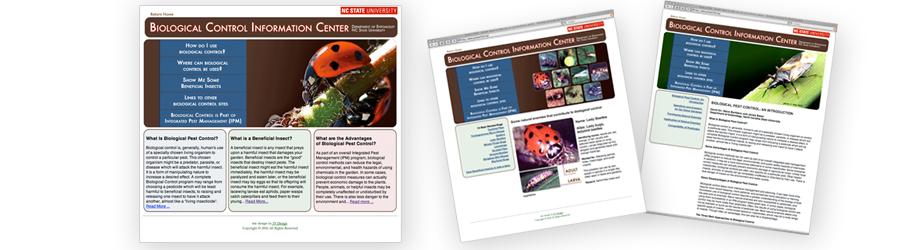 NC State University Biological Control Webiste