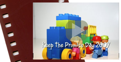 Keep the Promise Day Lego Video