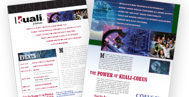 Kuali-Coeus Print ads
