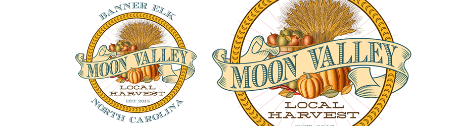 Moon Valley Local Harvest Logo